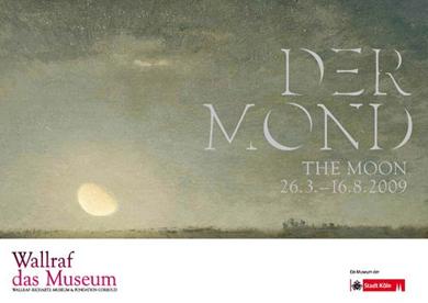 Ausstellungsplakat Der Mond