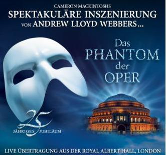 Das Phantom der Oper live aus der Royal Albert Hall